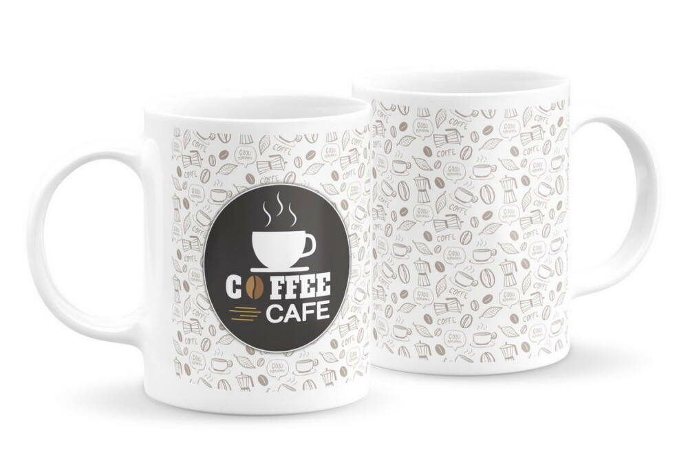 Emblémás kávés bögre 2