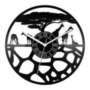 Zsiráfos bakelit óra