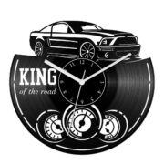 King of the road bakelit óra
