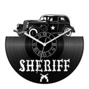 Retro car - Sheriff bakelit óra