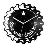 Igyál sört bakelit óra