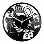 Bankrabló bakelit óra