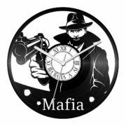 Maffiózó bakelit óra