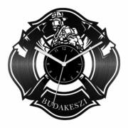 Tűzoltó Őrs bakelit óra