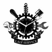 Autószerelő bakelit óra