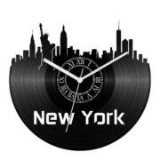 New York bakelit óra