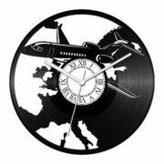 Utasszállító repülőgép bakelit óra