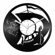 Viking bárka bakelit óra
