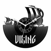 Viking hajók bakelit óra
