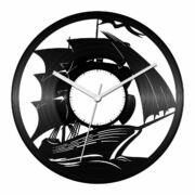 Vitorlás hajó bakelit óra