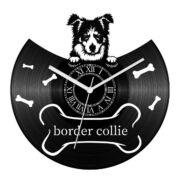 Border collie bakelit óra