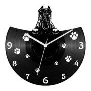Kanári-szigeteki kutya bakelit óra