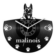 Malinois bakelit óra
