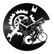 Kerékpáros bakelit óra