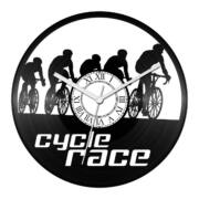 Kerékpárverseny bakelit óra