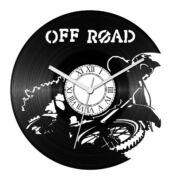 Off road motoros bakelit óra