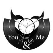 You and me bakelit óra