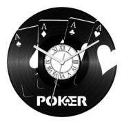 Póker bakelit óra