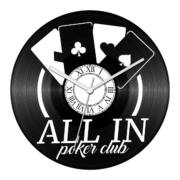 Póker - All in bakelit óra
