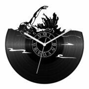 Hátúszó bakelit óra