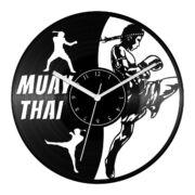 Thai boksz bakelit óra