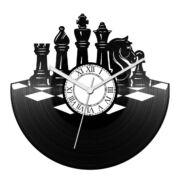 Sakktábla bakelit óra