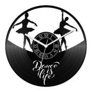 Balett bakelit óra