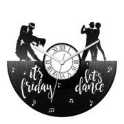 Indul a tánc bakelit óra