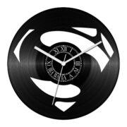 S betű bakelit óra