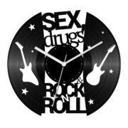 drugs and rock 'n' roll bakelit óra