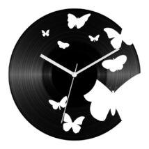 Pillangós bakelit óra
