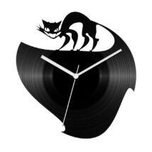 Gonosz macsek bakelit óra