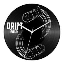 Drift race bakelit óra