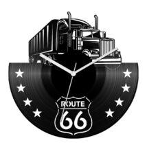 Kamion - Route 66 bakelit óra