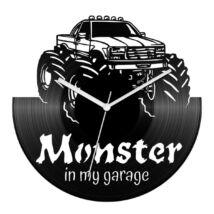 Monster in my garage bakelit óra