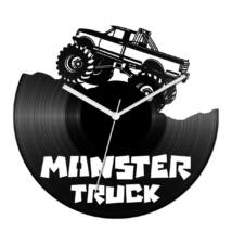 Monster truck bakelit óra