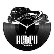 Retro cars bakelit óra