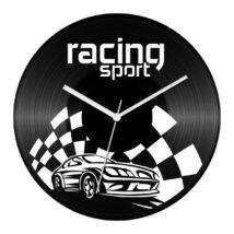 Sportautó - Racing sport bakelit óra