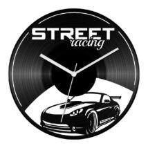 Sportautó - Street racing bakelit óra