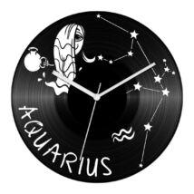 Vicces Vízöntő csillagjegyes bakelit óra