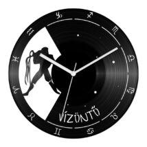 Vízöntő csillagjegyes bakelit óra