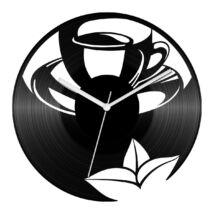 Teás csésze bakelit óra