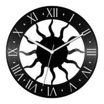 Napsugaras bakelit óra római számokkal