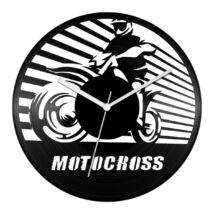 Motocross bakelit óra