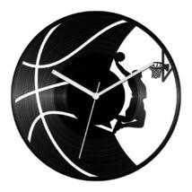 Kosárlabdás bakelit óra
