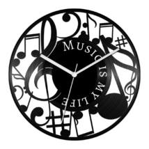 Music is my life bakelit óra
