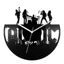 Rock banda bakelit óra