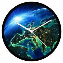 Éjszakai Európa falióra