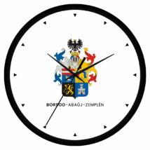 Borsod-Abaúj-Zemplén megye címeres falióra - órás