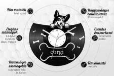 Bakelit óra jellemzők